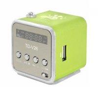 Rádio přenosné TD-V26 zelená