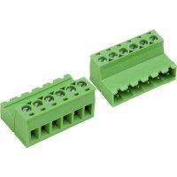 Šroubová svorkovnice PTR AKZ950/4-5.08-INV (50950047028F), 5,08 mm, světle zelená