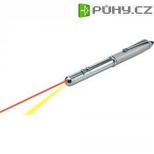 Laserové ukazovátko v tužce s LED lampičkou