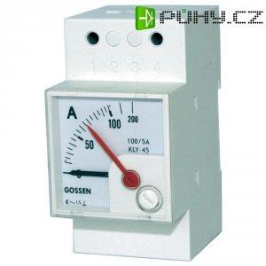 Elektromagnetický měřicí přístroj na DIN lištu GMW EQB 45H, 1/2 A