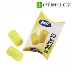 Špunty do uší EAR Classic II, PP-01-200, 28 dB, 250 párů/balení po 1 páru, žlutá