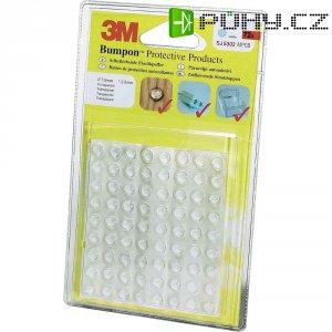 Sada elast. zarážek 3M 3M SJ5302 Bumpon, 7,9 mm, 72 ks