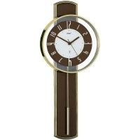 DCF kyvadlové hodiny - pendlovky, 55242, 22 x 54,5 x 5 cm, hnědá