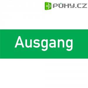 """Nouzové značení \""""Ausgang\"""" (německy) B-Safety H F563-H"""