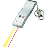 """Laserové ukazovátko \""""přívěsek na klíce\"""" s LED svítilnou"""