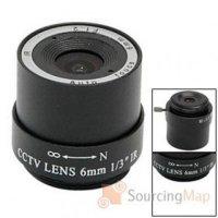 2,1 mm CS vyměnitelná čočka pro kamery