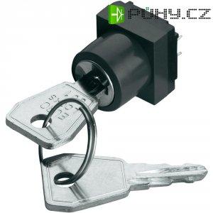 Klíčový spínač RAFI, 3,13009,903/0000, 42 V, 100 mA, IP54