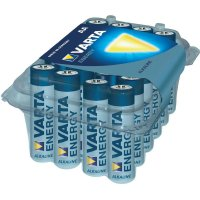 Alkalická baterie Varta, typ AA, sada 24 ks