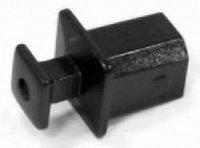 USB záslepka Würth Elektronik 726141001, zásuvka Typ B, černá