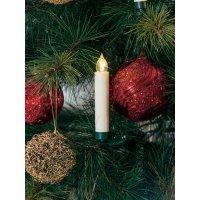 Vnitřní bezdrátové osvětlení vánočního stromku Konstsmide, 10 LED, krátké svíčky