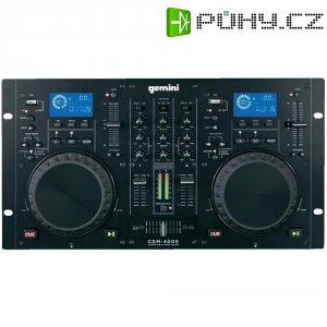 Dvojitý CD/MP3 přehrávač a mixpult Gemini CDM-4000, USB