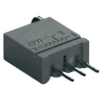 Cermetový trimr TT Electro, 2094312361, 50 kΩ, 0,5 W, ± 10 %