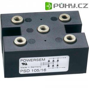 Můstkový usměrňovač POWERSEM PSB 75/16, U(RRM) 1600 V, U(FM) 500 V, 70 A