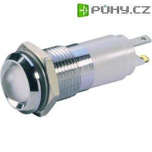 LED signálka Signal Construct SWBU14628CR, 230 V/AC, bílá