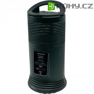 Keramický topný ventilátor Honeywell HZ-435E, 1200/1800 W, černá