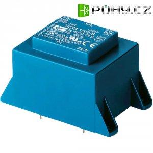 Transformátor do DPS Block EI 66/34,7, 230 V/2x 15 V, 2x 1,66 A, 50 VA