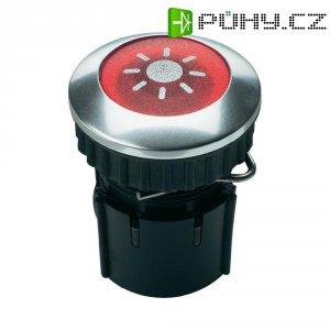 Zvonkové tlačítko podsvícené Grothe Protact 63022, max. 24 V/1,5 A, hliník