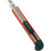 Nůž TOOLCRAFT, 9 mm, hliník