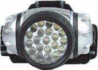 Svítilna LED 21x, čelovka, napáj.3xAAA