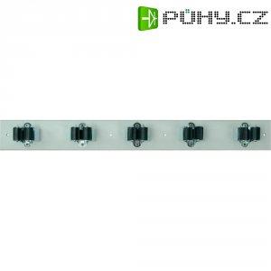 Lišta s držáky Prax 5-35W, Ø 35 mm, 550 x 60 mm