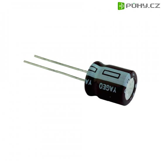 Kondenzátor elektrolytický Yageo S5050M0R33B1F-0405, 0,33 µF, 50 V, 20 %, 5 x 4 mm - Kliknutím na obrázek zavřete
