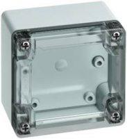 Svorkovnicová skříň polykarbonátová Spelsberg TG PC 88-6-to, (d x š x v) 84 x 82 x 55 mm, šedá