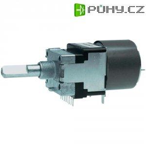 Motorizovaný potenciometr prachotěsný Stereo 0.05 W 10 kOhm ALPS RK16812MG 10KDX2 1 ks
