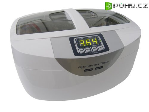 Ultrazvuková čistička ULTRASONIC 2500ml, CD-4820 - Kliknutím na obrázek zavřete