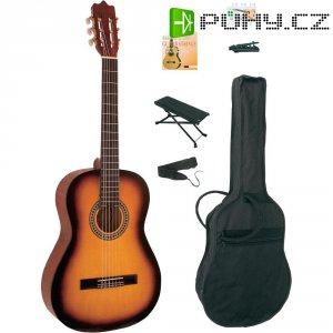 Sada akustické kytary MSA 4/4,Sunburst