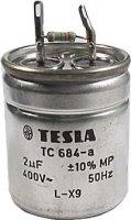 2u/400V~ TC684a, kondenzátor zářivkový 45x54mm