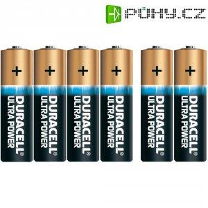 Sada alkalických baterií Duracell Ultra, typ AA, 4 ks+2 zdarma