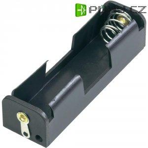 Držák na baterii 1x AA s pájecími kontakty