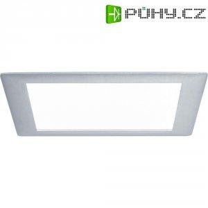 Vestavné LED osvětlení Paulmann Premium Line, hranaté, 8 W, hliník (d.b.)