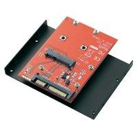 "Konvertor s vestavným rámem mSATA SSD/SATA 8,9 cm (3,5\"")"