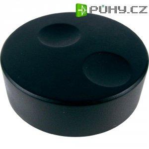 Knoflík pro enkodéry Cliff CL71660B, pro sérii K18, 6 mm, černá