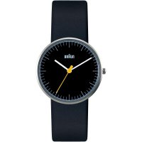 Ručičkové náramkové hodinky Braun 66525, dámské, gumový pásek, černá