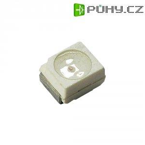 SMD LED PLCC2 Dominant Semiconductors, DRA-NJS-UV1-1, 50 mA, 2,1 V, 120 °, 900 mcd, jantarová