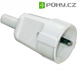 Zásuvka na kabel 203, schuko, 230 V, šedá