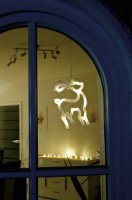 Sob okenní dekorace Konstsmide 1298-103, bílá