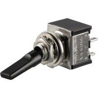 Klopný páčkový spínač SCI TA201G1, 250 V/AC, 3 A, 2x vyp/zap, 1 ks