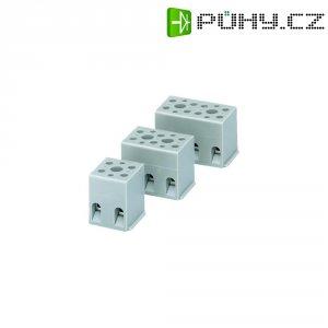Svorka Phoenix Contact, 2716020, 4 - 4 mm², 2pólová, šedá