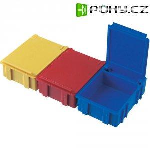 ESD SMD box vodivý Licefa N3-11-11-6-6, (d x š x v) 41 x 37 x 15 mm, červená