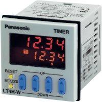 Digitální zdvojené časové relé LT4H-W (dva časy) Panasonic, LT4HW8240ACJ, 5 A , 1250 VA