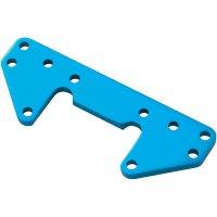 Hliníkový přední držák tlumiče Reely, modrá (M2041)