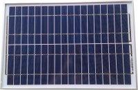 Fotovoltaický solární panel 12V/20W/1,11A polykrystalický