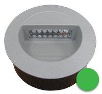 Svítidlo LED vestavné J01 12V 126mm zelené