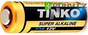 Baterie TINKO 12V A23 alkalická