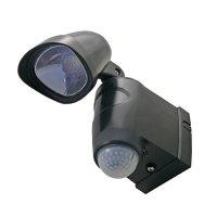 Svítidlo LED - reflektor s PIR čidlem, nástěnné, 1x3W