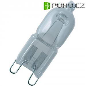 Halogenová žárovka, 230 V, 25 W, G9, saténová