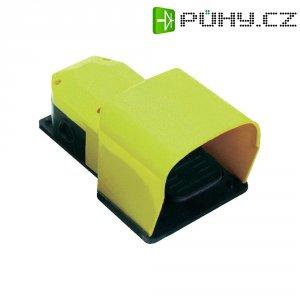 Nožní spínač Pizzato Elettrica PX 10311-M2, 6 A, IP65, plast, M20, žlutá